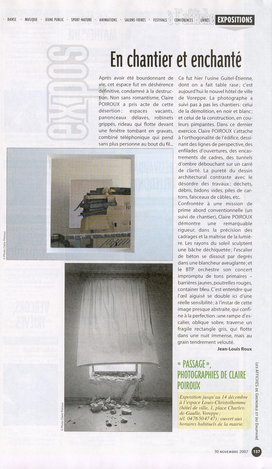 Article J-Louis Roux 11 2007