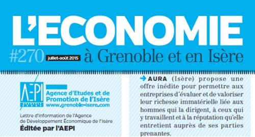 Aura-Article L'économie à Grenoble AEPI 07 2015